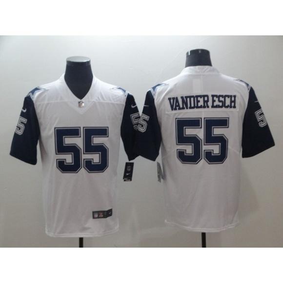 the best attitude b6d23 16a66 Dallas Cowboys Leighton Vander Esch Jersey (2) NWT